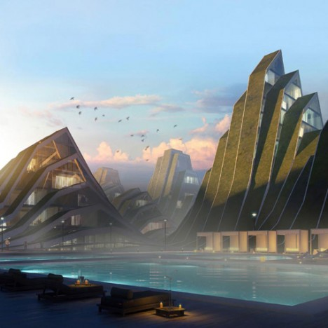Architecture As Landscape 15 Terrain Inspired Buildings