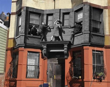 NYC Crime Scene Collage 1