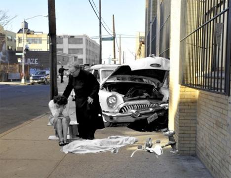 NYC Crime Scene Collage 3