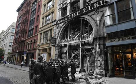NYC Crime Scene Collage 5