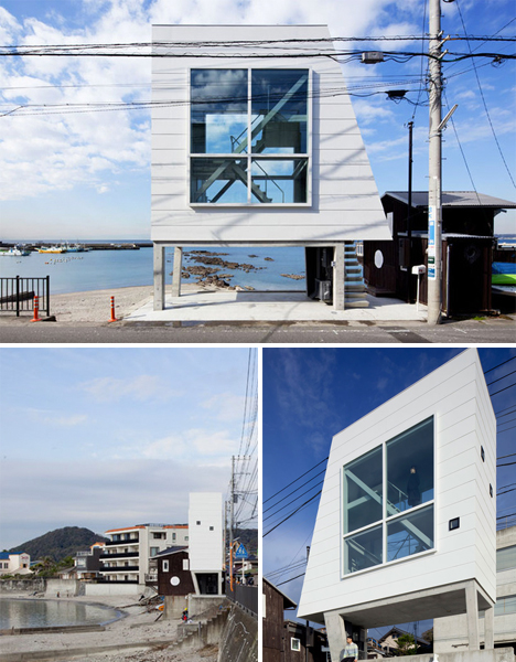 Odd Lots Oceanfront Cabin Stilts