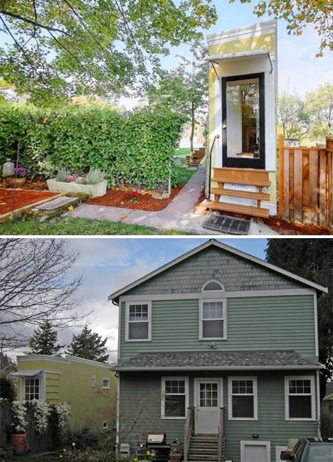 odd lots seattle spite house - Pie Shaped Lot Home Plans