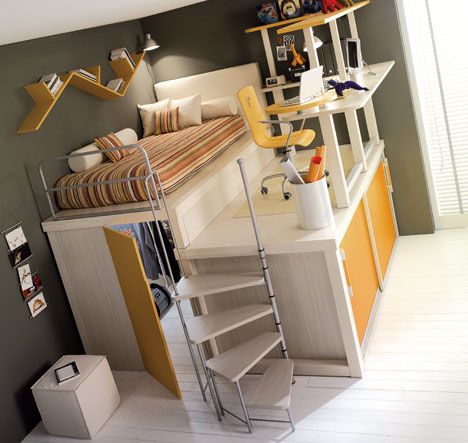 Astonishing Small Space Hacks 24 Tricks For Living In Tiny Apartments Urbanist Largest Home Design Picture Inspirations Pitcheantrous