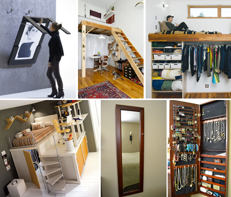 Small Space Hacks 24 Tricks For Living In Tiny Apartments Urbanist