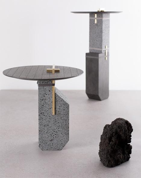 Stone Furniture Etna
