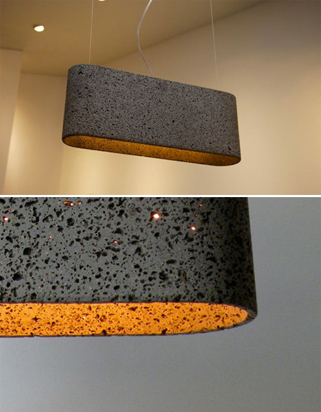 Stone Furniture Pendant Lamp