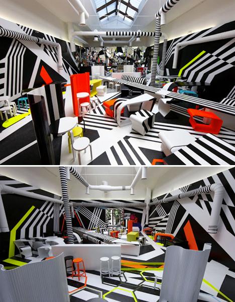 Surreal Interiors Biennale Bar