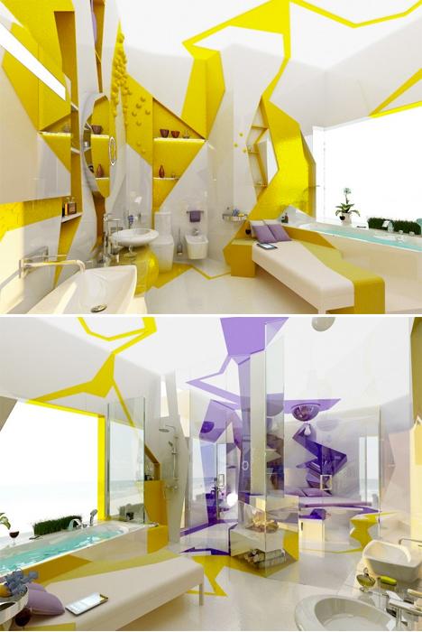 Surreal Interiors Cubist 1