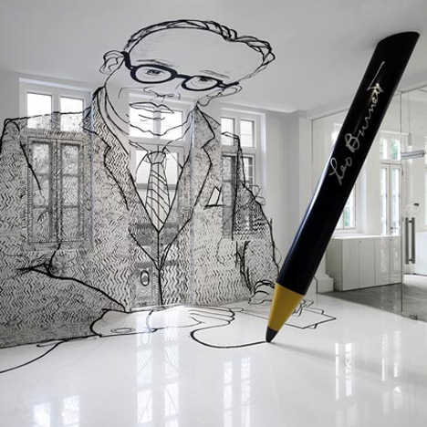 Surreal Interiors Leo Burnett Office