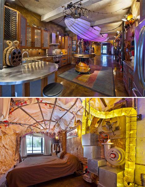 Surreal Interiors Steampunk