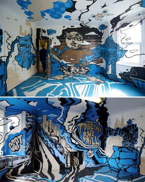 Surreal Interiors Street Art