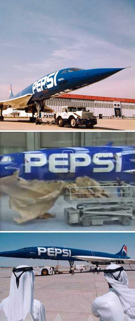 Pepsi Air France Concorde