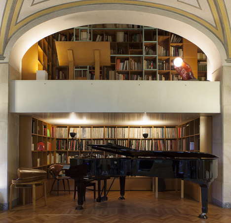 bellini house interior piano