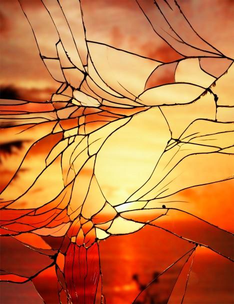 broken mirror orangered