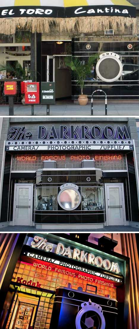 The Darkroom camera store Disney