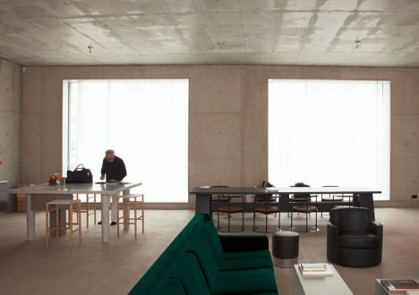 chipperfield minimal house interior