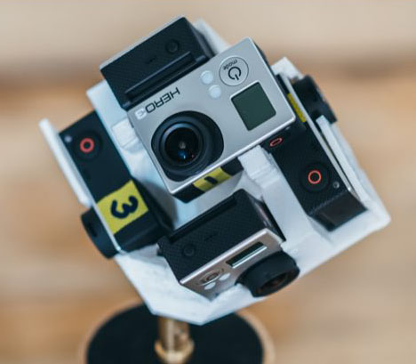 cubic 360 degree camera