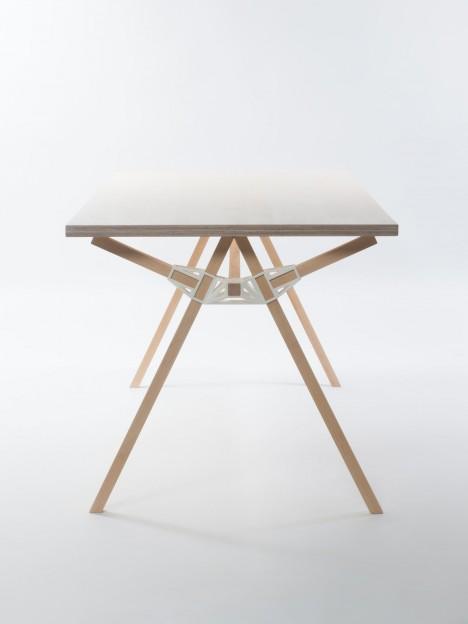 diy standing table vertical