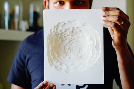 paper artist in context