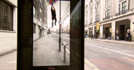 pepsi augmented reality display