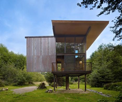 raised cabin sliding wall