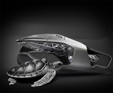 Design Car Game >> Bio-Mobile: 3D-Printed Car Body Inspired by Turtle Shell | Urbanist