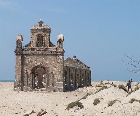 Abandoned India Dhanushkodi