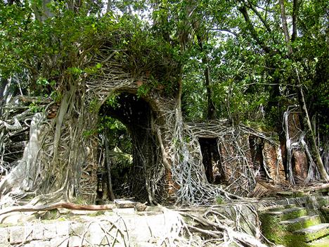 Abandoned India Ross Island 1