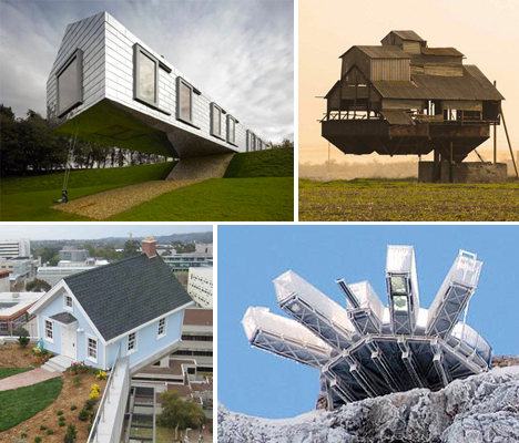 Floating Architecture: 16 Dramatic Cantilevered Structures ...