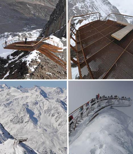 Cantilevered Top of Tyrol Overlook