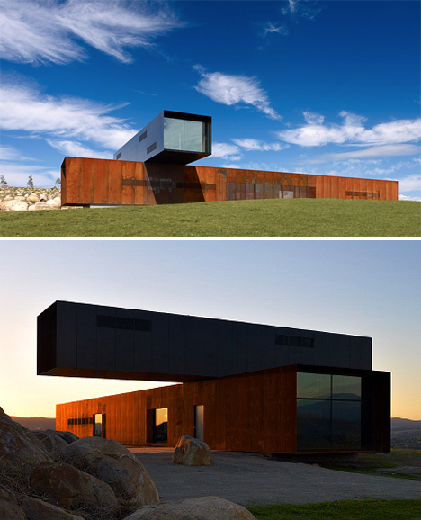 Cantilevered View HIll House