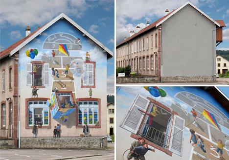 Fake Facades Mural 5