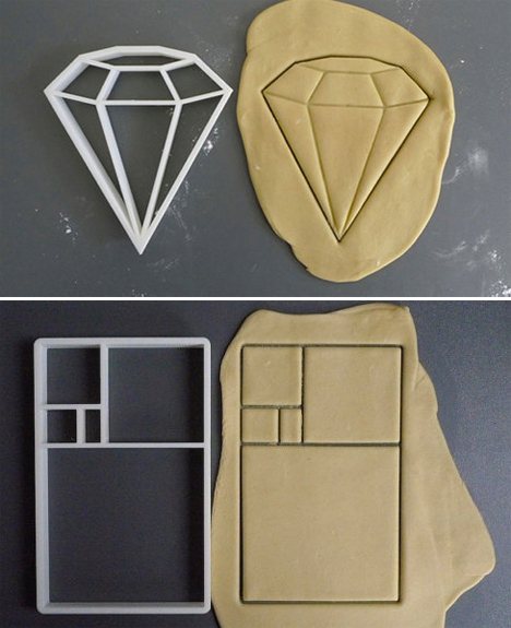 Geometric Home Cookie Cutters