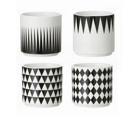 Geometric Home Espresso Cups