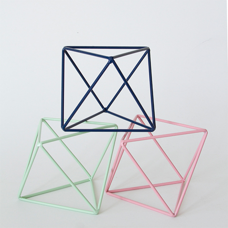 Geometric Home Octahedron Decor