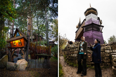 Magical Hotels Enchanted Treehouse 1