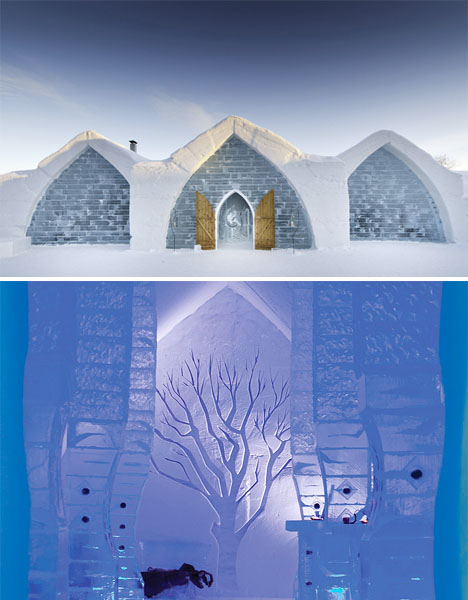 Magical Hotels Ice Quebec