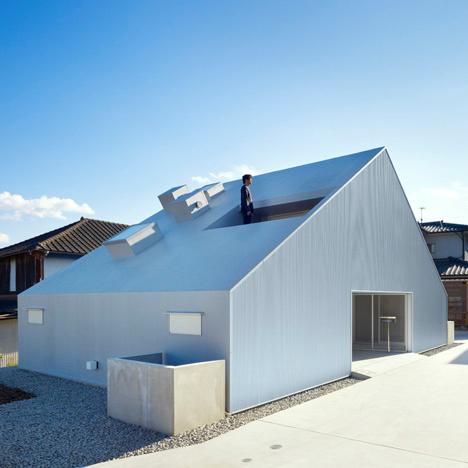 Metallic Houses Cloudy