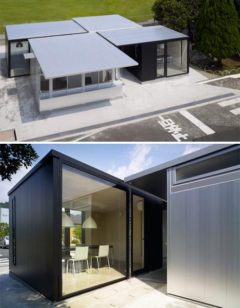 Metallic Houses Gatehouse