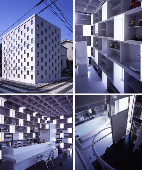 Metallic Houses Void Masonry