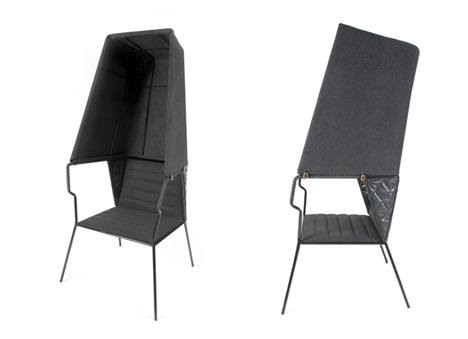 Privacy Chairs Booth Lounger
