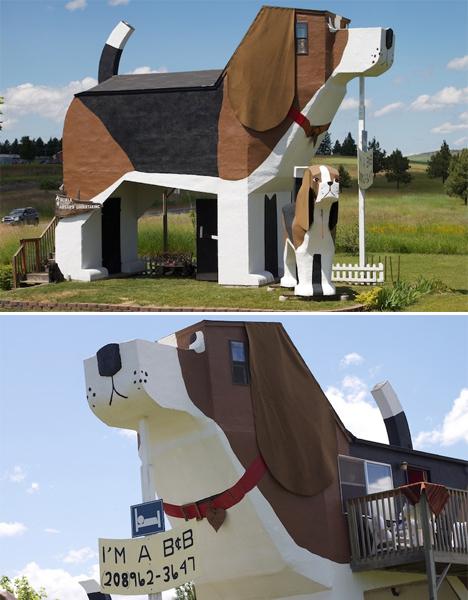 Weirdest Hotels Dog Bark Park