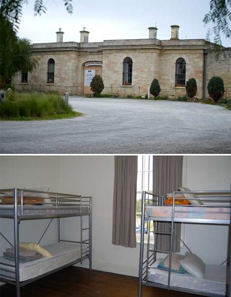Weirdest Hotels Jail Australia