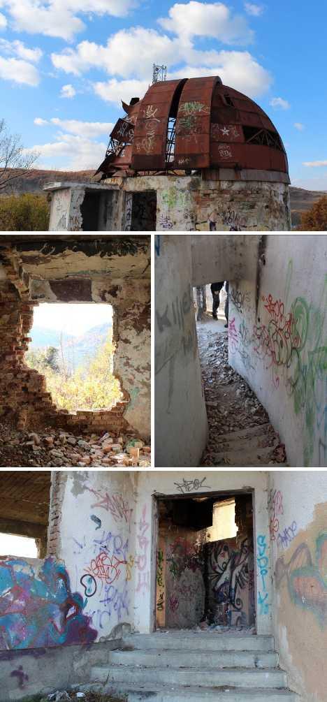 Odorheiu Secuiesc Romania abandoned observatory