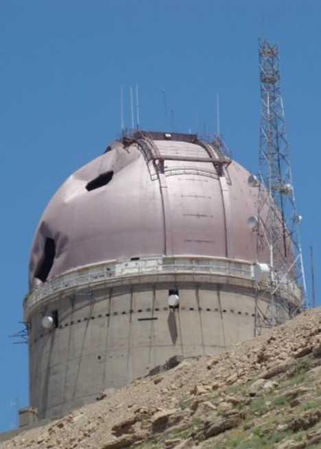 Erbil Iraq abandoned observatory Mount Korek