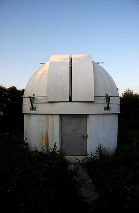 abandoned observatory Truro Cornwall