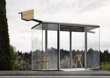architect bus stop project