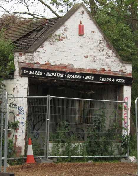 abandoned bike shop Oxford