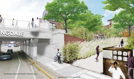 bloomingdale bridge juncture rendering