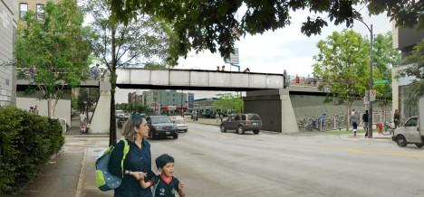 bloomingdale trail elevated walkway
